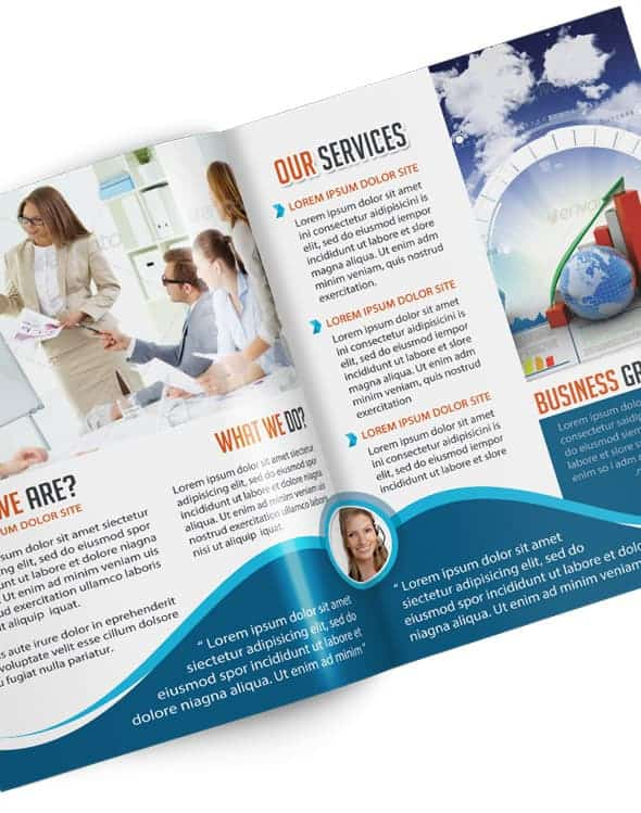 Four Page Brochure Template Images Four Page Brochure - 4 page brochure template
