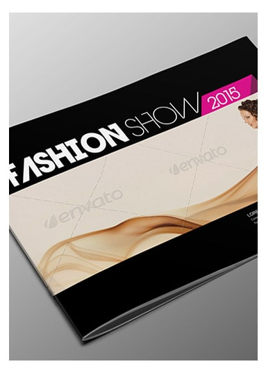 fashion multipurpose bi fold brochure template arabic vision